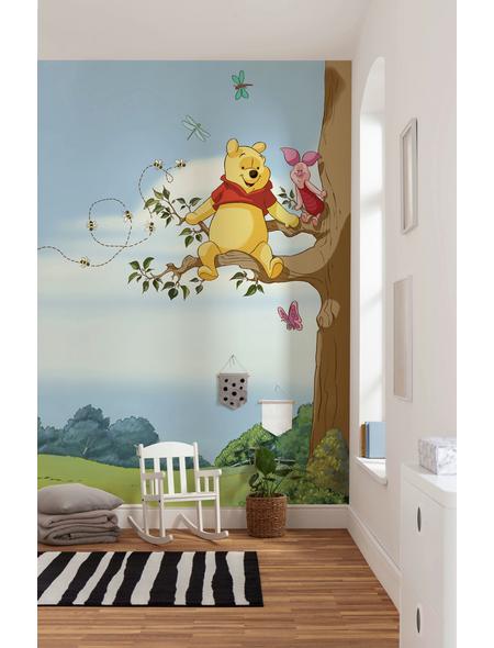 KOMAR Foto-Papiertapete »Winnie Pooh Tree«, Breite 184 cm, inkl. Kleister