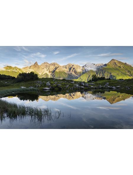 KOMAR Foto-Vliestapete »Allgäu Spiegel«, Breite 450 cm, seidenmatt