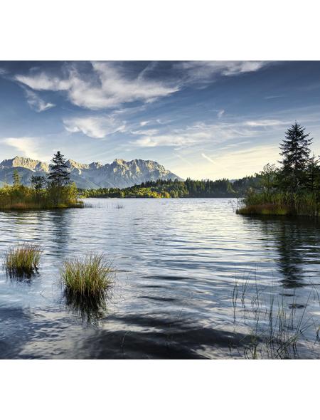 KOMAR Foto-Vliestapete »Am Ende des Tages«, Breite 300 cm, seidenmatt