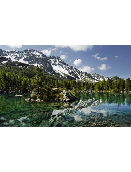 KOMAR Foto-Vliestapete »Bergmagie«, Breite 450 cm, seidenmatt