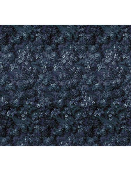 KOMAR Foto-Vliestapete »Botanique Bleu«, Breite 300 cm, seidenmatt