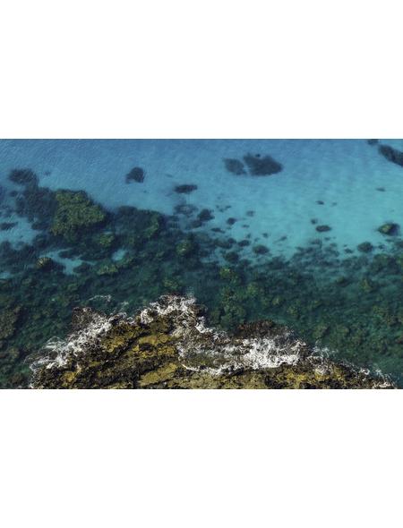 KOMAR Foto-Vliestapete »Bright Blue «, Breite 450 cm, seidenmatt