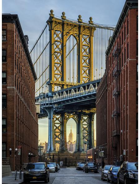 KOMAR Foto-Vliestapete »Brooklyn«, Breite 184 cm, inkl. Kleister