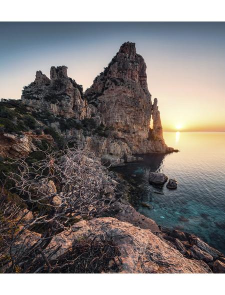 KOMAR Foto-Vliestapete »Colors of Sardegna«, Breite 250 cm, seidenmatt