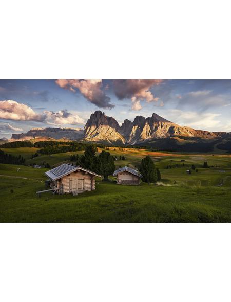 KOMAR Foto-Vliestapete »Dolomitentraum«, Breite 450 cm, seidenmatt