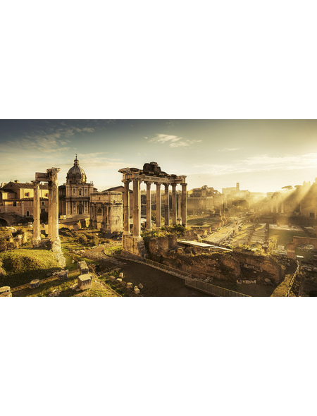 KOMAR Foto-Vliestapete »Forum Romanum«, Breite 500 cm, seidenmatt