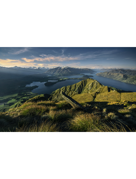 KOMAR Foto-Vliestapete »Green Ridges «, Breite 450 cm, seidenmatt