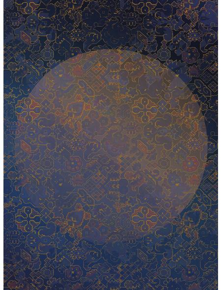 KOMAR Foto-Vliestapete »La Lune«, Breite 200 cm, seidenmatt