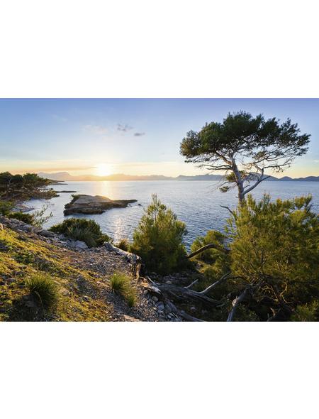 KOMAR Foto-Vliestapete »Licht des Südens«, Breite 400 cm, seidenmatt