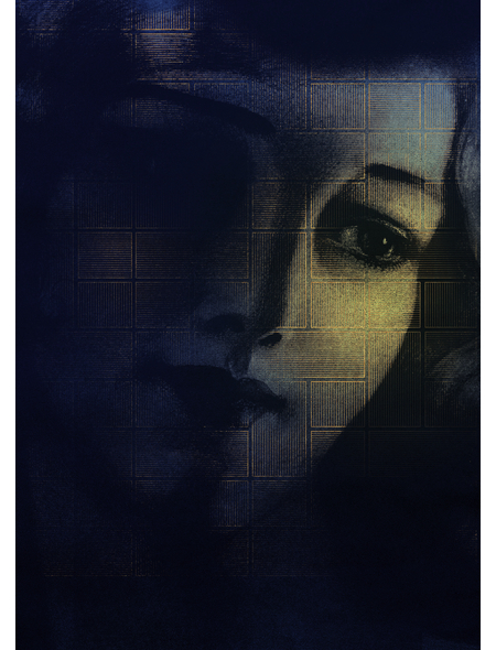 KOMAR Foto-Vliestapete »Lumière«, Breite 200 cm, seidenmatt