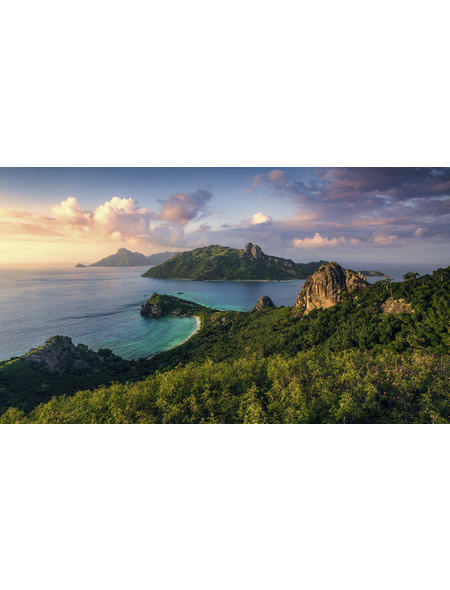 KOMAR Foto-Vliestapete »Monkey Island«, Breite 350 cm, seidenmatt