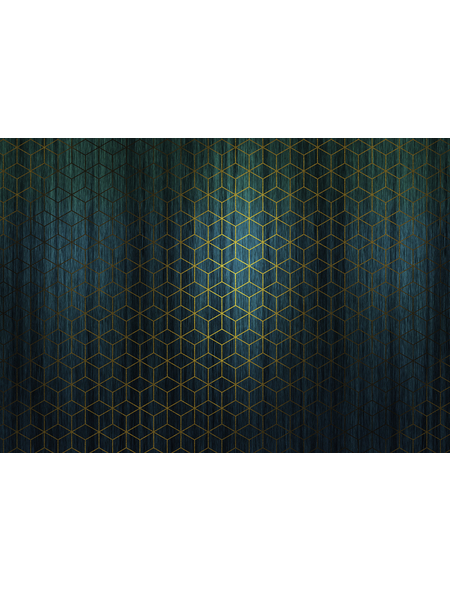 KOMAR Foto-Vliestapete »Mystique Vert«, Breite 400 cm, seidenmatt