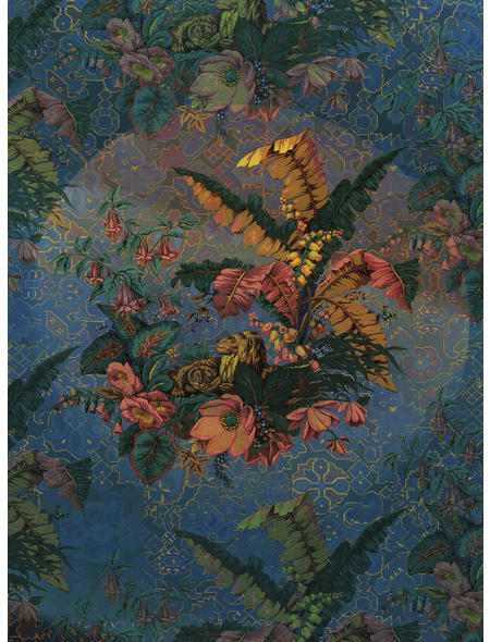 KOMAR Foto-Vliestapete »Orient Bleu«, Breite 200 cm, seidenmatt