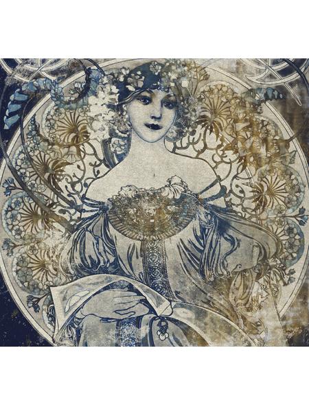KOMAR Foto-Vliestapete »Porcelaine«, Breite 300 cm, seidenmatt