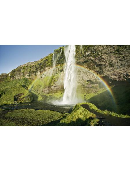 KOMAR Foto-Vliestapete »Power of Iceland«, Breite 450 cm, seidenmatt