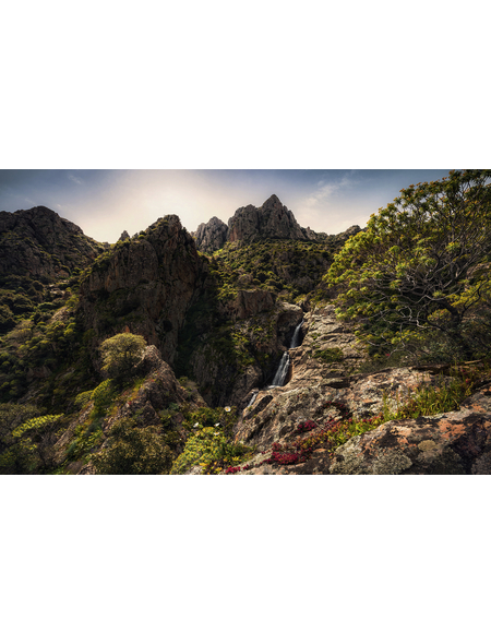 KOMAR Foto-Vliestapete »Rainbow Lands«, Breite 450 cm, seidenmatt