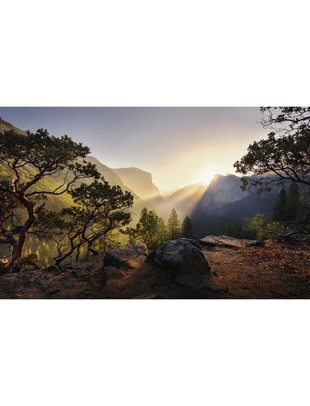 KOMAR Foto-Vliestapete »Yosemites Secret«, Breite 450 cm, seidenmatt