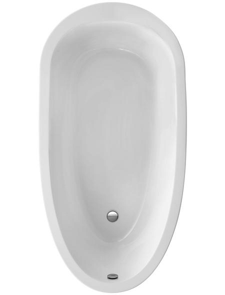 OTTOFOND freistehende Badewanne, BxHxL: 94,5 x 50 x 185 cm, oval