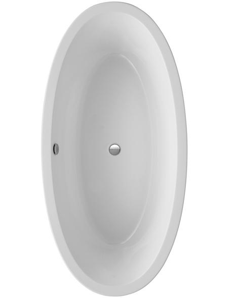 OTTOFOND Freistehende Badewanne »Latina«, BxHxL: 94 x 60 x 190 cm, oval