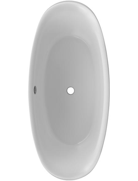 OTTOFOND Freistehende Badewanne »Ventura«, BxHxL: 83,5 x 74,5 x 180,5 cm, oval