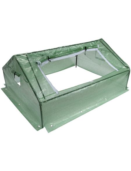 FLORAWORLD Frühanzuchtbeet, B x L x H: 142 x 180 x 80 cm, Kunststoff, grün