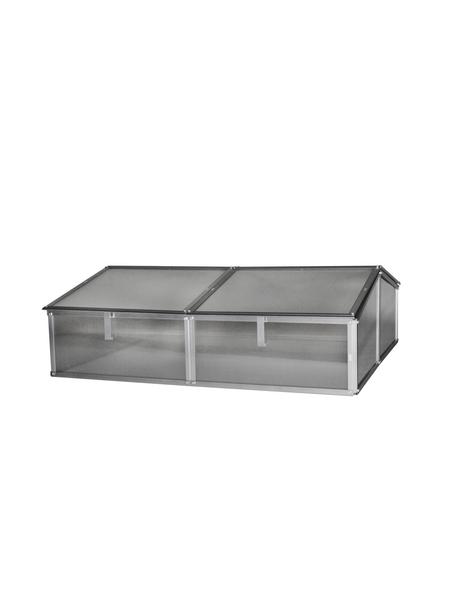 VITAVIA Frühbeet »Gaia 2X«, BxLxH: 102,3 x 120,5 x 38,9 cm, Aluminium