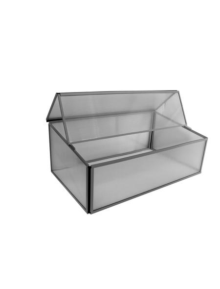 PERGART Frühbeet »Levana 1«, B x L x H: 97.5 x 57 x 36 cm, Aluminium, grau