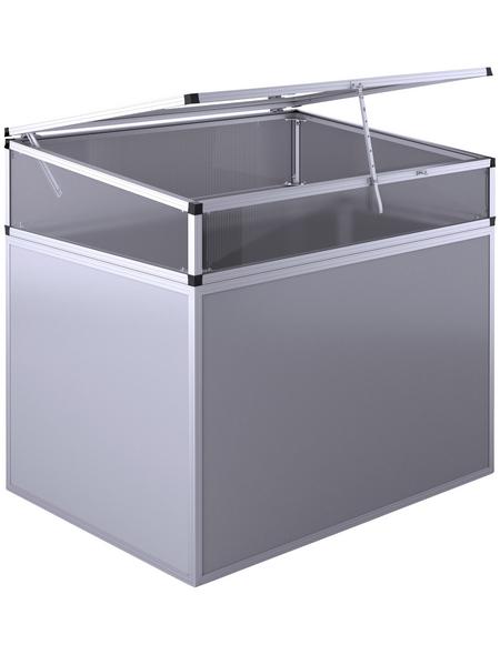 KGT Frühbeetaufsatz »130«, B x L x H: 123 x 91 x 31 cm, Aluminium