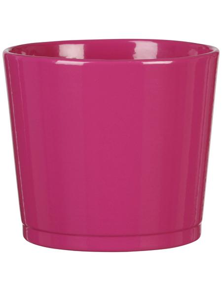 SCHEURICH Frühlingstopf »SPRING«, Höhe: 10,5 cm, pink, Keramik