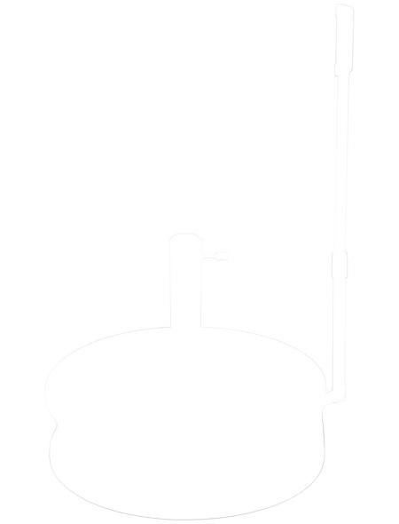 Füllsockel, grau/weiß/schwarz, geeignet für Sonnenschirme