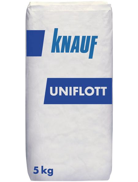 KNAUF Fugenspachtelmasse, Uniflott, Grau, 5 kg
