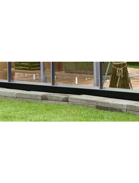 JULIANA Fundament, BxHxt: 296 x 12 x 439 cm, Stahl