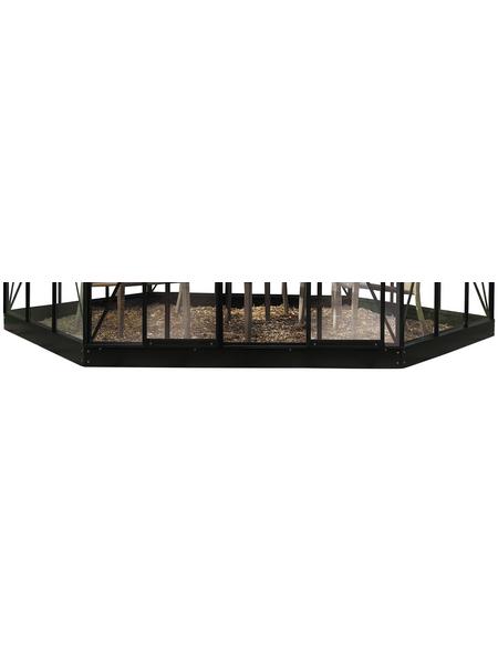 HALLS Fundament für Gewächshaus »Atrium«, Stahl, BxL: 380 x 375 cm