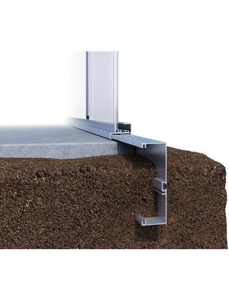 KGT Fundamentrahmen »Tulpe«, BxLxH: 297 x 429 x 12 cm, Aluminium