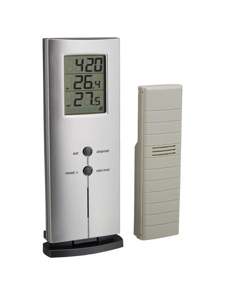 tfa® Funk-Thermometer LOGO digital Kunststoff 6 x 15,8 x 3 cm