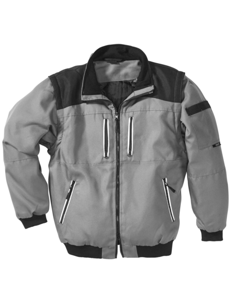 SAFETY AND MORE Funktionsblouson »EXTREME«, grau/schwarz, Polyester, Gr. M