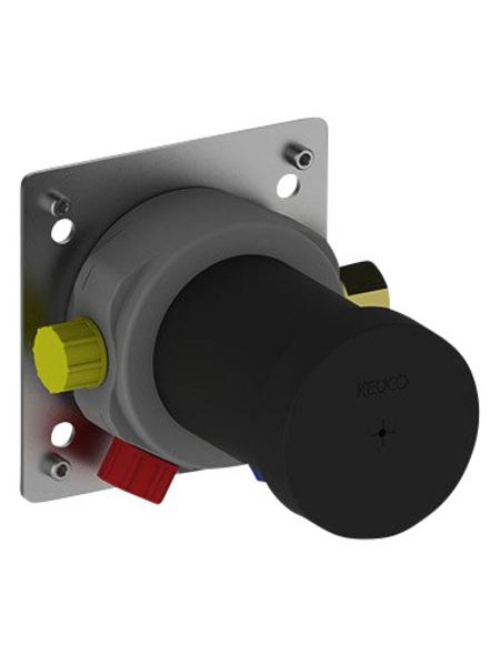 KEUCO Funktionseinheit Einhebelmischer »IXMO«, Messing/Kunststoff, silberfarben