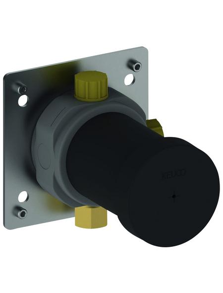 KEUCO Funktionseinheit (Unterputz) »IXMO«, Kunststoff/Messing, silberfarben