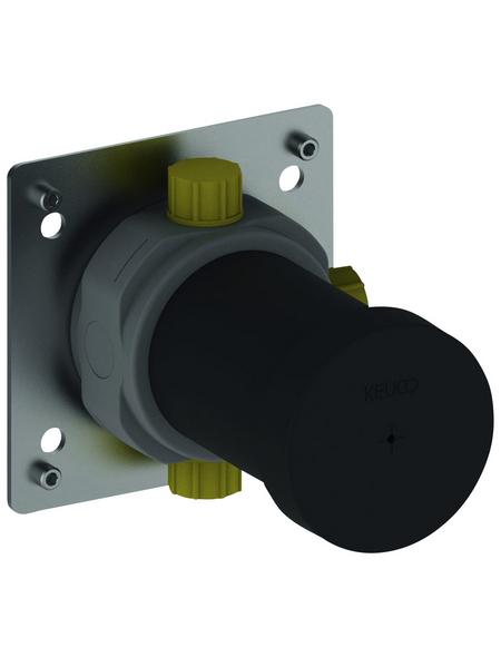 KEUCO Funktionseinheit (Unterputz) »IXMO«, Messing/Kunststoff, silberfarben