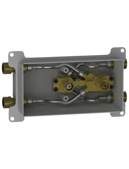 KEUCO Funktionseinheit (Unterputz) »meTime_spa«, Metall, silberfarben