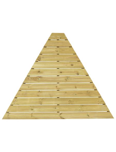 WOLFF Fußboden, Holz, beige