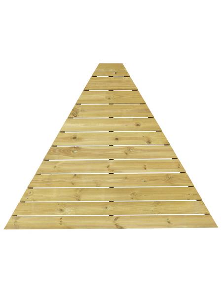 WOLFF Fußboden, Holz, grün