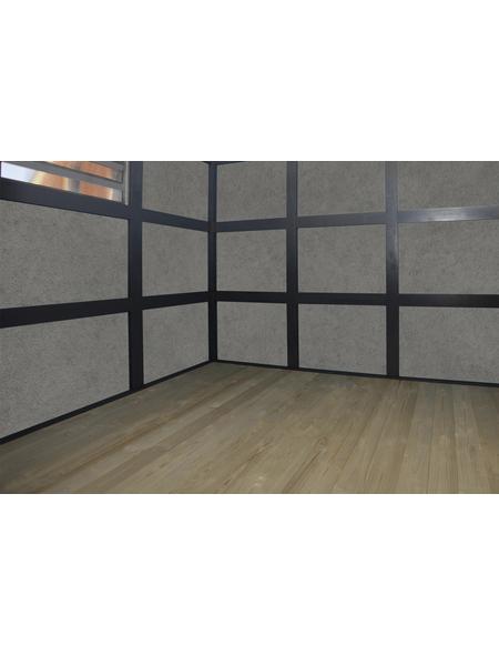 SKANHOLZ Fußboden, Konstruktionsvollholz (KVH) natur, BxT: 78,5 x 253 cm