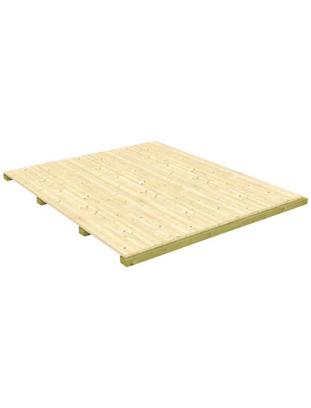 MR. GARDENER Fußboden »Modular«, Fichte natur, BxT: x cm