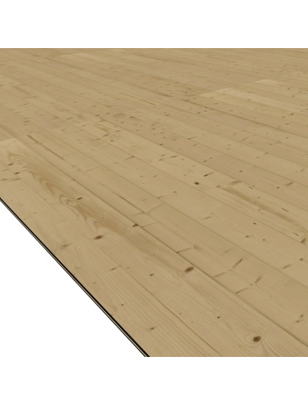 WOODFEELING Fußboden, natur, BxT: 183 x 183 cm