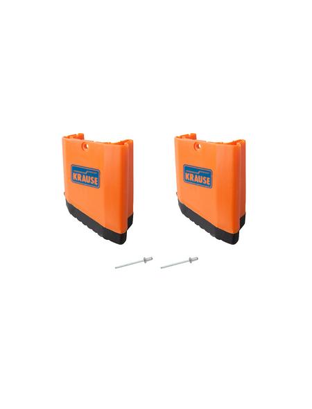 KRAUSE Fußkappe »MONTO«, , Kunststoff, orange