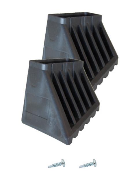 KRAUSE Fußkappe »MONTO«, , Kunststoff, schwarz
