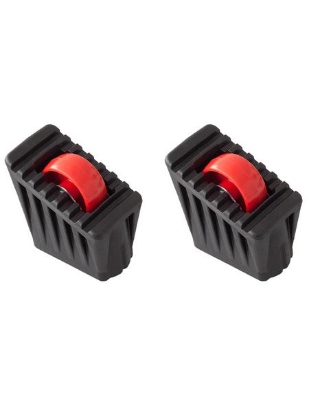 KRAUSE Fußkappe & Rollset »MONTO«, , Kunststoff