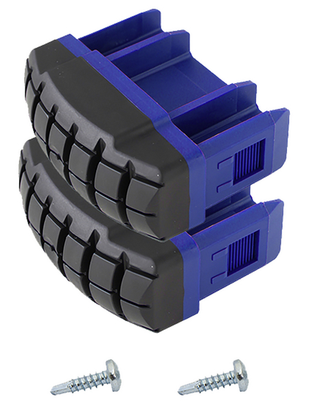 KRAUSE Fußstopfen »STABILO«, , Kunststoff, blau