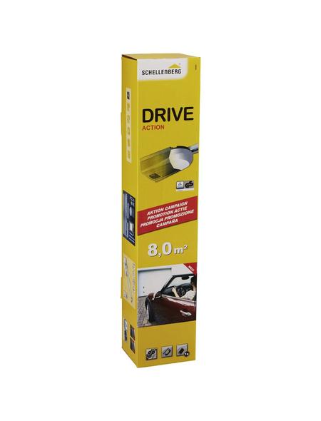 SCHELLENBERG Garagentorantrieb »Drive Action«, geeignet für Schwing- und Sektionaltore bis 8 m²